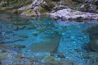 水晶淵(安居渓谷) | 日本秘境...